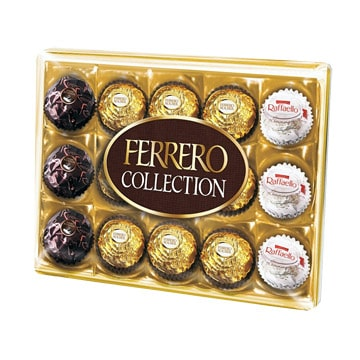 Kiew, Pralinen ''Ferrero Collection''